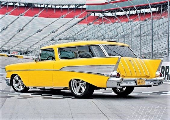 A Yellow 57 Chevrolet Bel Air Nomad Plays A Key Role In The Crime