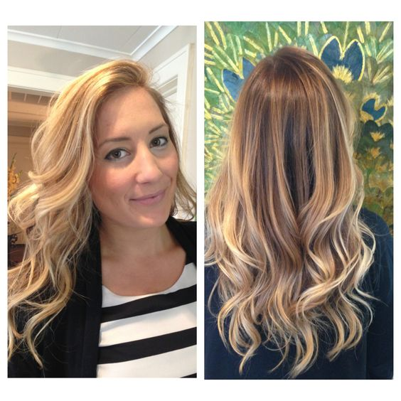 Blonde Dimensions And Blonde Balayage With A Blonde Ombre Base And Highlights Summer Waves