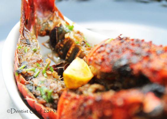Roasted Lobster Garlic Ginger Soy Sauce Butter