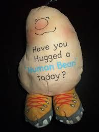 human beans stuffed toy