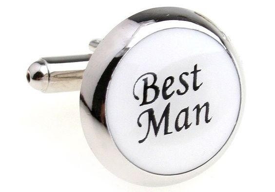 Wedding Series Best Man Cufflinks