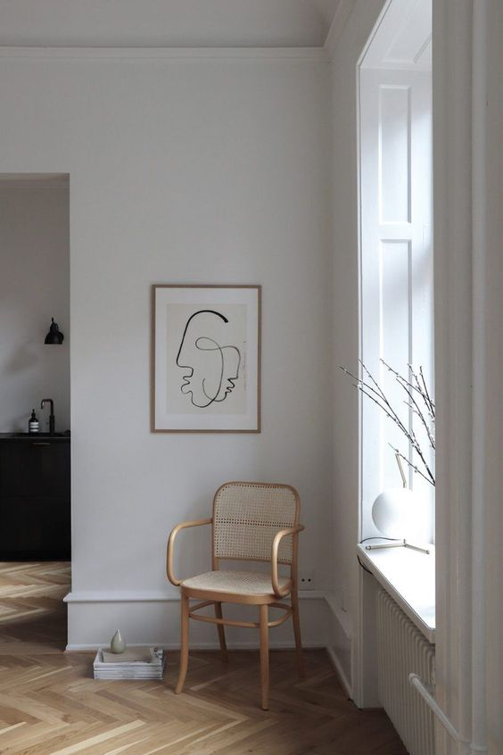 "Art Print ""One Soul"" by Loulou Avenue 〰️ Les Rêveries #artprint #wall #decoration #affiche #art #affordable #prints #interiors #deco #living #style #minimalist #modernist"