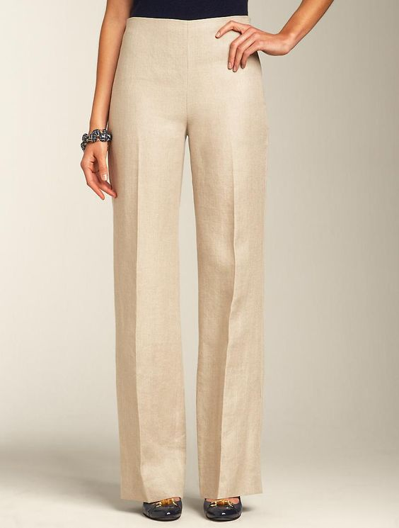 Talbots - Hollywood Linen Pants | | Misses | Stylin' | Pinterest ...