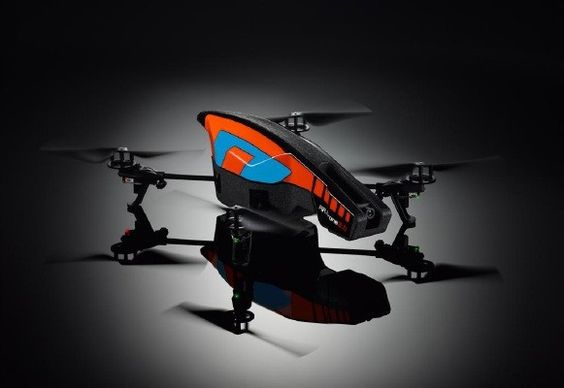 AR Drone Flyer, with 720p camera and even program it to fly or only $299