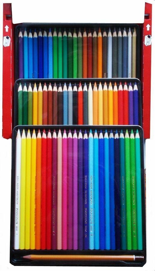KOH-I-NOOR TRIOCOLOR COLOURED PENCILS Pack of 36 Assorted Colour Pencils