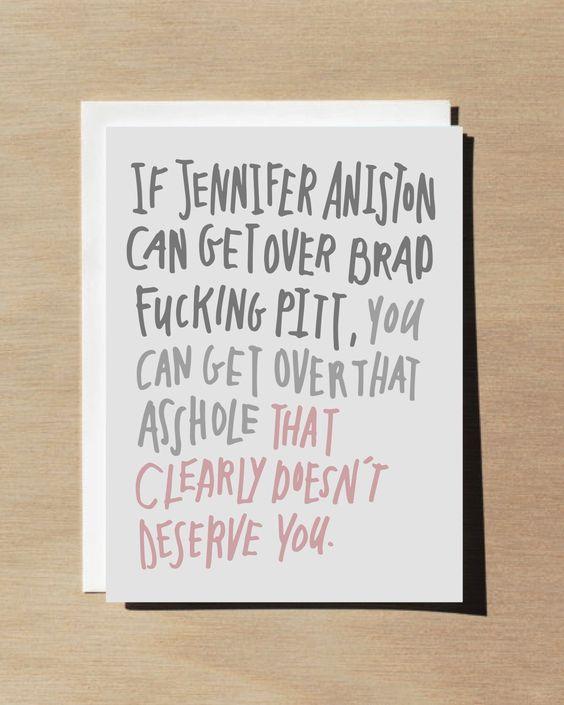 Funny Anti Valentine Card / Break up card / Best friend