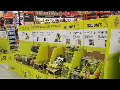 Insane Home Depot Memorial Day Sale Tool Discounts 2019 With