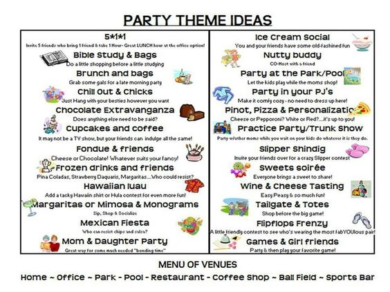 theme party ideas direct sales - | Thirty-One Themed Party ...