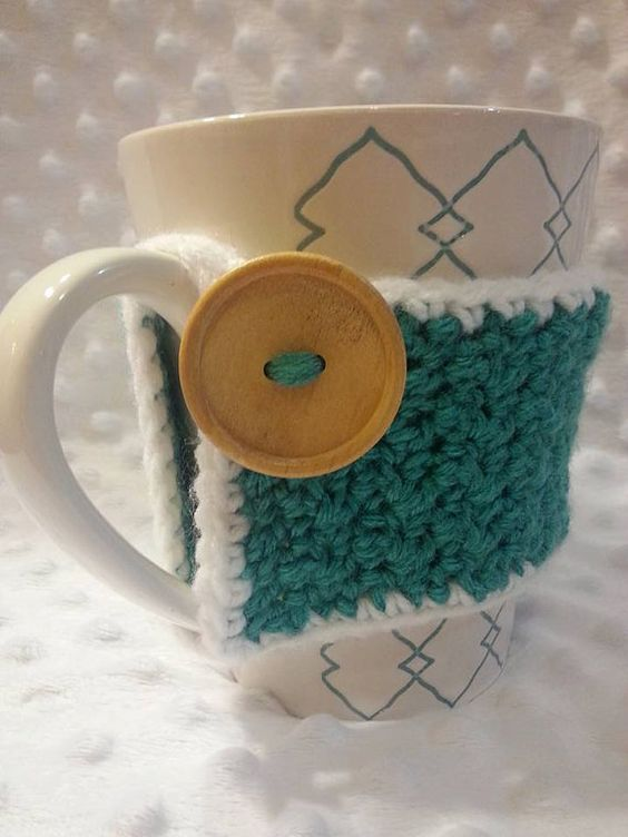 Big Button Cup Cozie