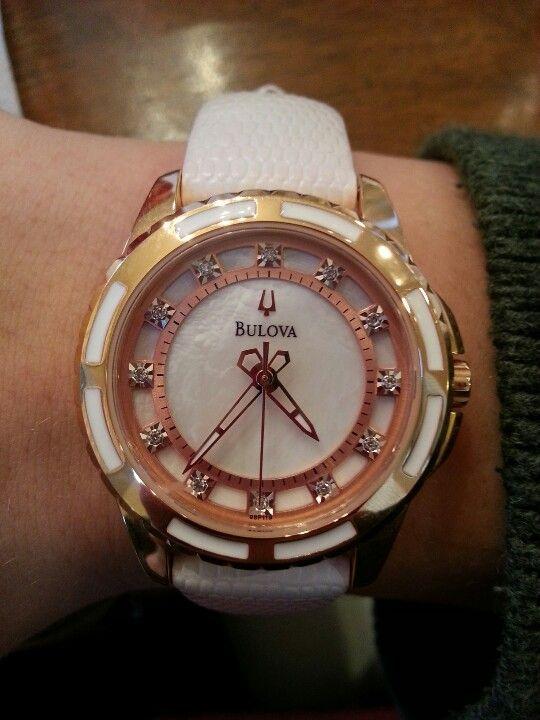 Bulova watch from Kay Jewlers - Christmas present!!