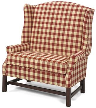 A Large Chair From An American Made Company Called