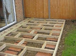 Tips for designing a small garden for someone with very for Building a low profile deck