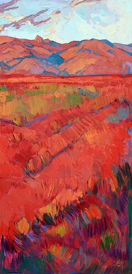Desert Rainbow Triptych - Right Panel Painting