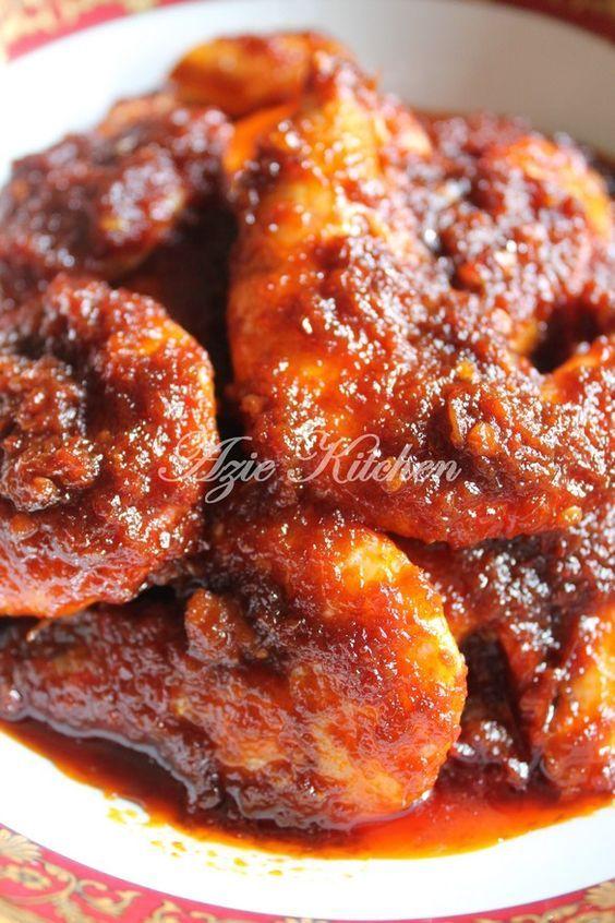 Azie Kitchen Sambal Tumis Udang Sedap Nyonya Food Malaysian Food Malay Food
