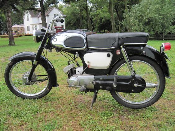 Suzuki 50 - 1st bike!