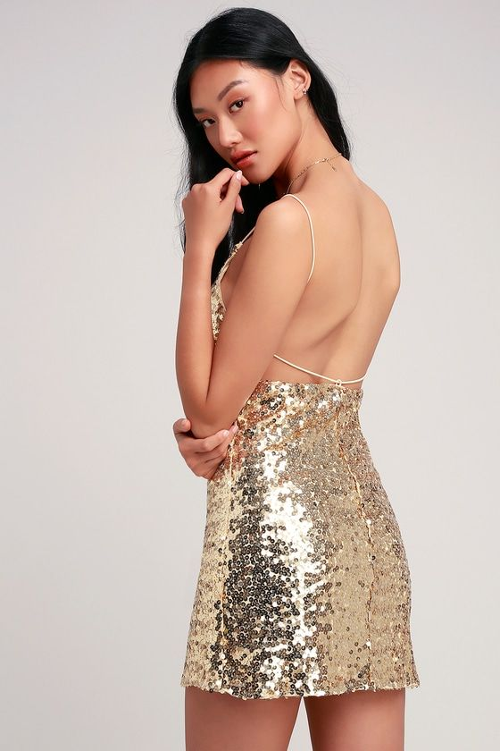 27+ Backless sequin mini dress ideas