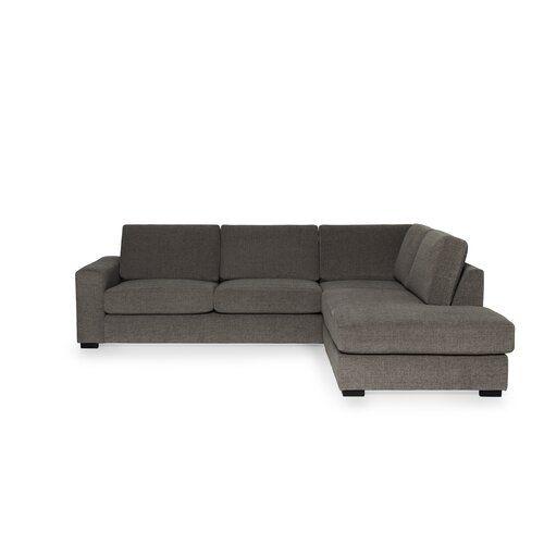 Capo Modular Corner Sofa Mercury Row Colour Silver Modulares