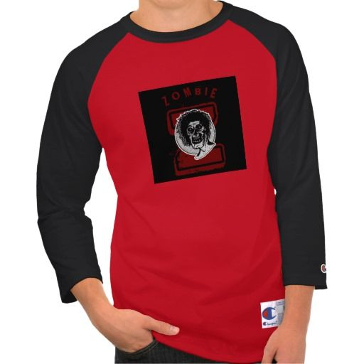 Zombie - Red Black and White Big Z 2 It's a Zombie looking at you! #zombies http://www.zazzle.com/monstersandthings?rf=238806092629186307