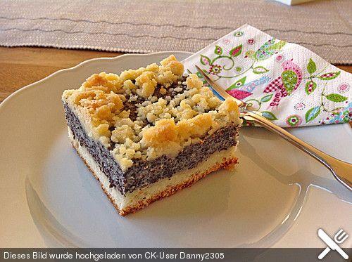 Leckerer Mohnkuchen mit Grieß (Rezept mit Bild) von Estefania1 | Chefkoch.de