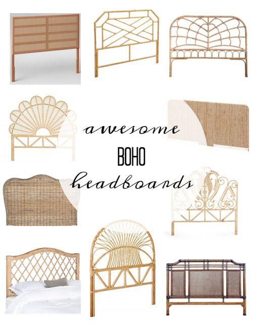 So Many Boho Headboards Boho Headboard Rattan Headboard Bamboo Headboard