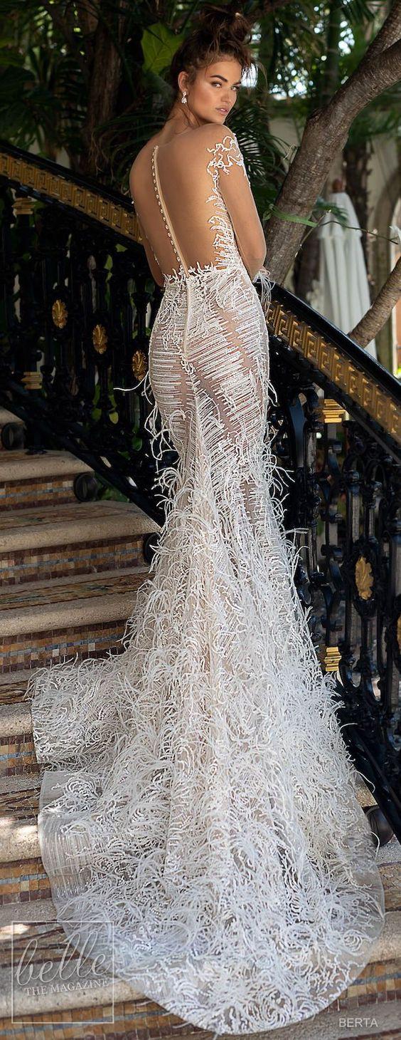 oh-so-glamorously BERTA Wedding Dresses Spring 2019