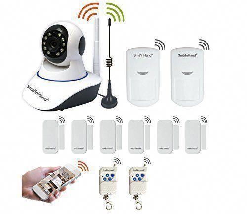 Smainhand Wireless Home Security Alarm System Diy Kit With 720p Hd Wifi Wireless Security Home Security Systems Home Security Alarm System Home Security Alarm
