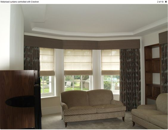 Curtains Ideas blinds and curtains for bay windows : Pinterest • The world's catalog of ideas