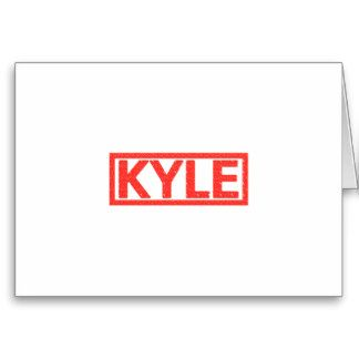 Kyle Stamp Greeting Card