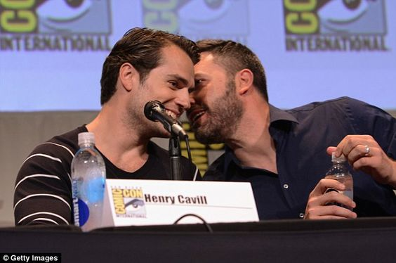 Henry Cavill and Ben Afflect
