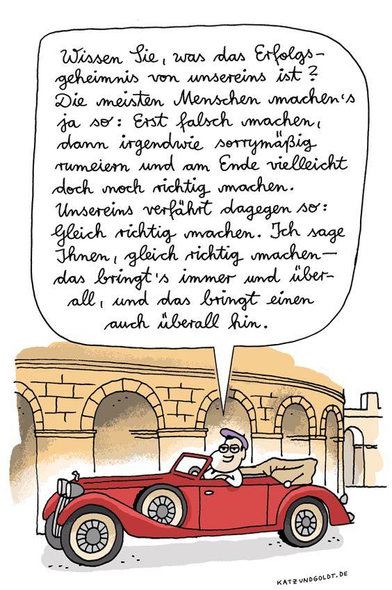 """Katz & Goldt - """"Erfolgsgeheimnis"""". Wie wird man Millionär?  Ein Self-made-Millionär wird Ihr Erfolgs-Coach! Jetzt 14 Tage GRATIS testen! http://123geld.helmut-ament.de"""