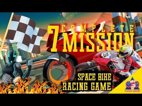Gravity Rider Space Bike Racing Game Online Mission 002