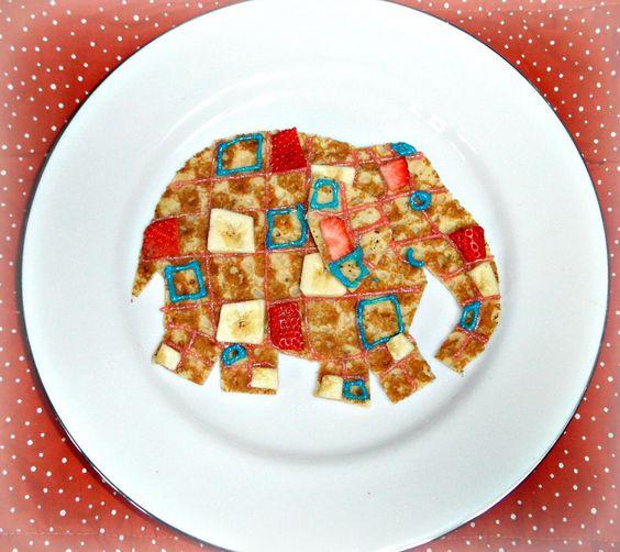 Elmer the pancake elephant #Elmer the patchwork elephant #kids