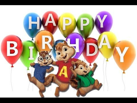 Best Happy Birthday song Chipmunks - Cover by Alvin and the chipmunks