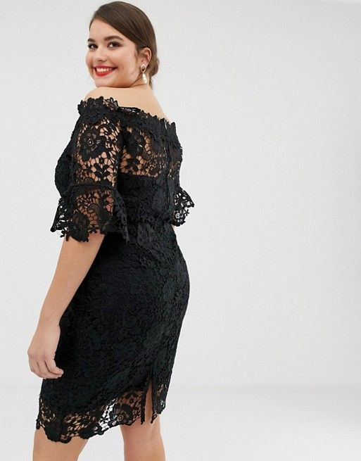 40+ Asos crochet dress with off shoulder trends