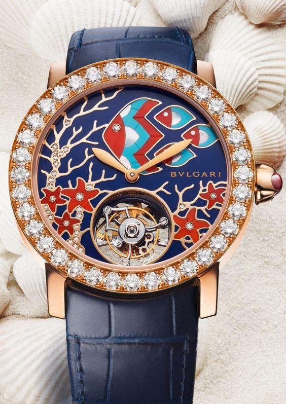 Il Giardino Marino di Bulgari Marine Life Inspired Stunning Jewelry Watch