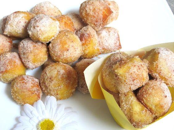 Rezepte mit Herz   ♥: Zimt - Zucker - Bretzelhappen - a la Auntie Anne´s...