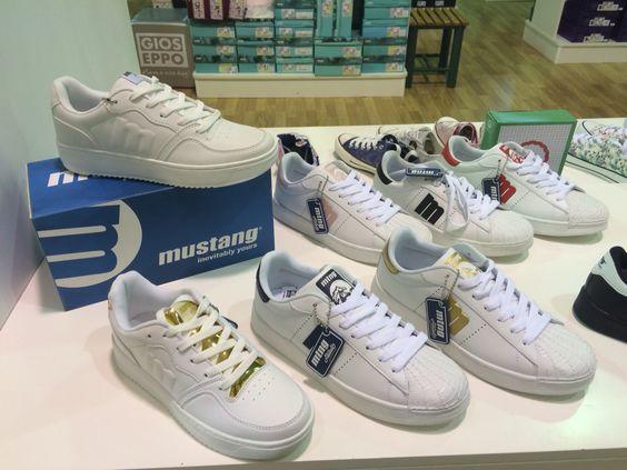 Nueva temporada marca mustang,todos sus modelos disponibles en tienda online www.zapatosparatodos.es