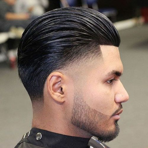 35 Best Slicked Back Hairstyles For Men 2020 Guide Mens Slicked Back Hairstyles Drop Fade Haircut Taper Fade Haircut