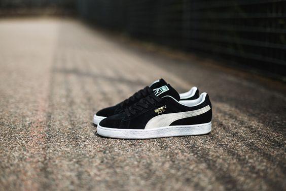 @puma Sportstyle Suede Black- White #sneakers #kicks