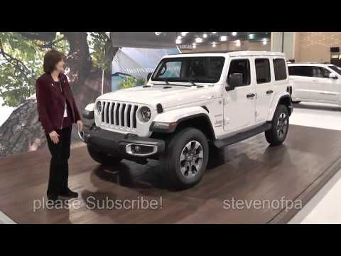 New Jeep Wrangler Jl Walk Around 2018 Sahara Edition 50k