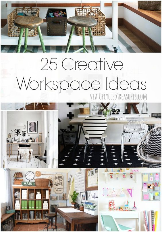 Home Office Creative And Offices On Pinterest