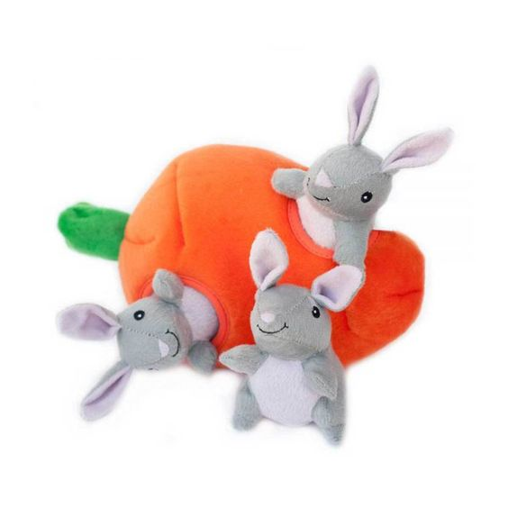 Bunny N Carrot Burrow Puzzle Dog Toy Best Dog Toys Interactive