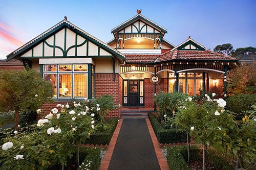 Modern Federation Homes Australia Google Search In 2020 Exterior House Colors Facade House House Styles