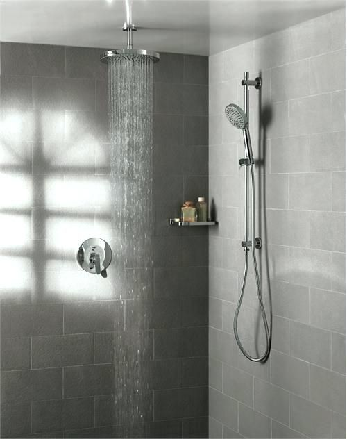 Rain Head And Hand Shower Bath Sink Faucet From Model 3 Shower