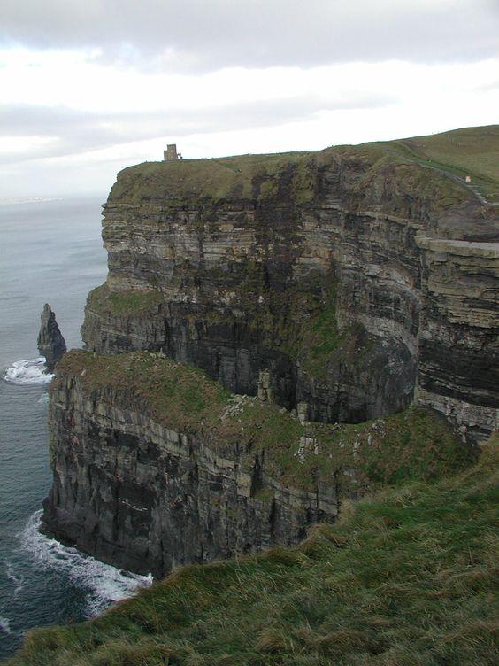 Irish Castle on a Cliff!