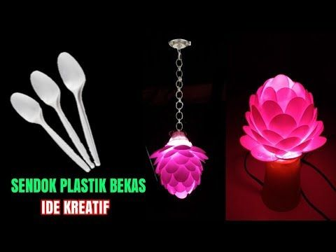 Extraordinary Creative Ideas Used Plastic Spoons Youtube