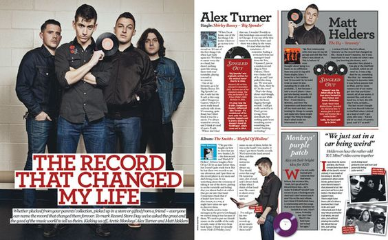 Arctic Monkeys on yet another NME cover with their new single, R U Mine to be released this saturday on record store day 2012.