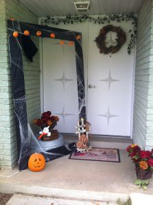 Diy Large Halloween Black Frame For Photo Booth And Decor