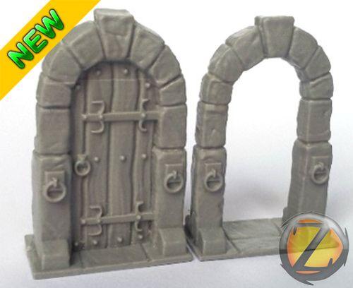 Dungeon Doors | Heroquest | Pinterest | Miniatures Dollhouses and Dioramas & Dungeon Doors | Heroquest | Pinterest | Miniatures Dollhouses and ... pezcame.com