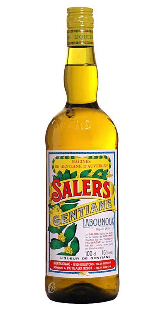 Salers Aperitif La Bounoux Gentiane Liqueur